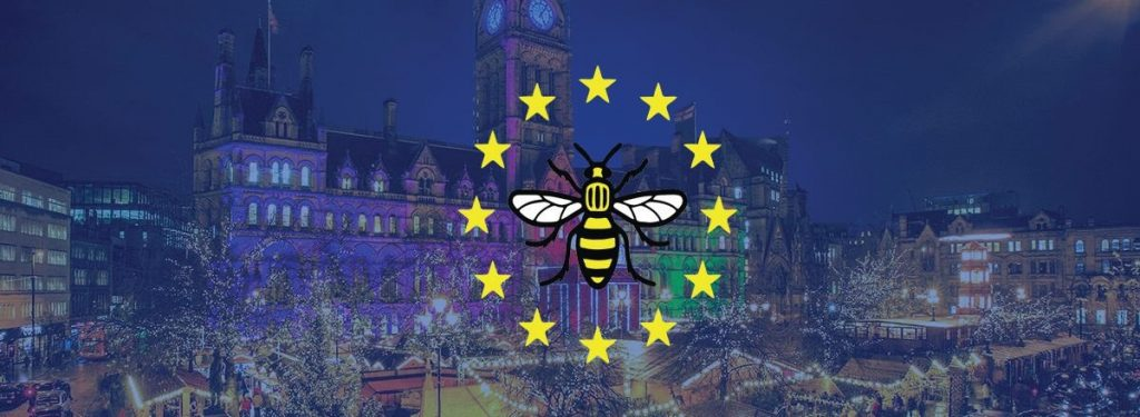 Brexit: Singkreis Manchester singt Weihnachtslieder auf dem Weihnachtsmarkt @ Weihnachtsmarkt Manchester