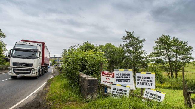 Grenze in Nordirland