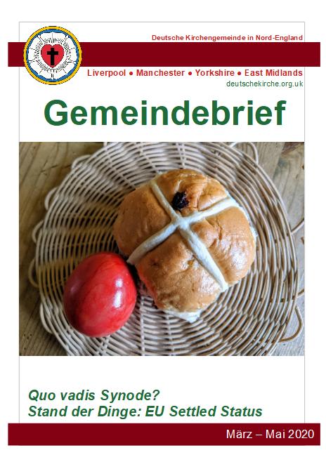 Gemeindebrief März/April/Mai 2020